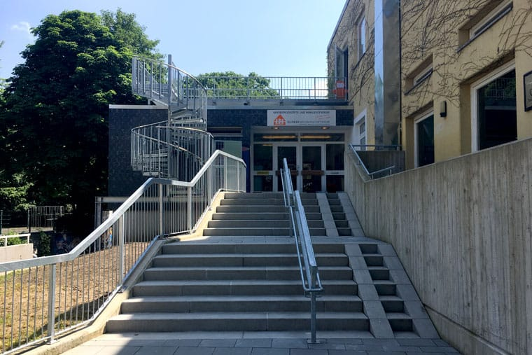 Treppe Eingang Kita