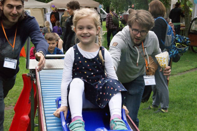 Nachbarschaftsfest Kinder