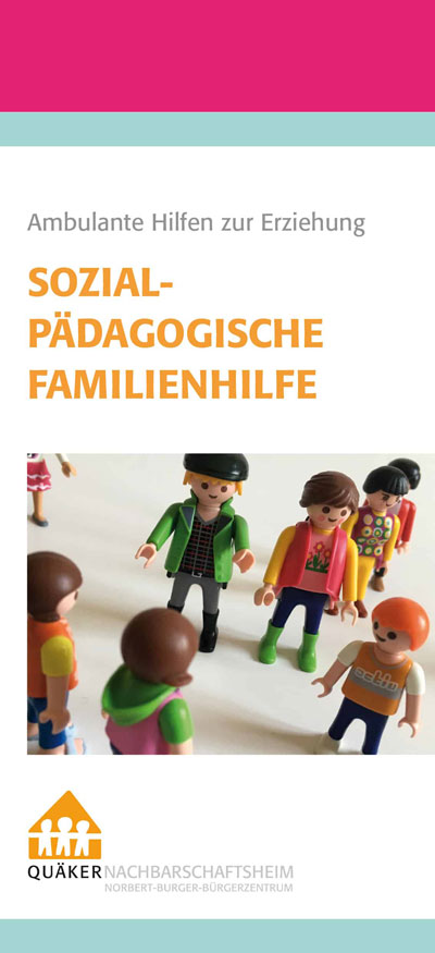 Cover Flyer Sozialpädagogische Familienhilfe