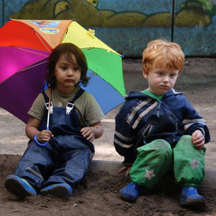 Kita Jungs Schirm