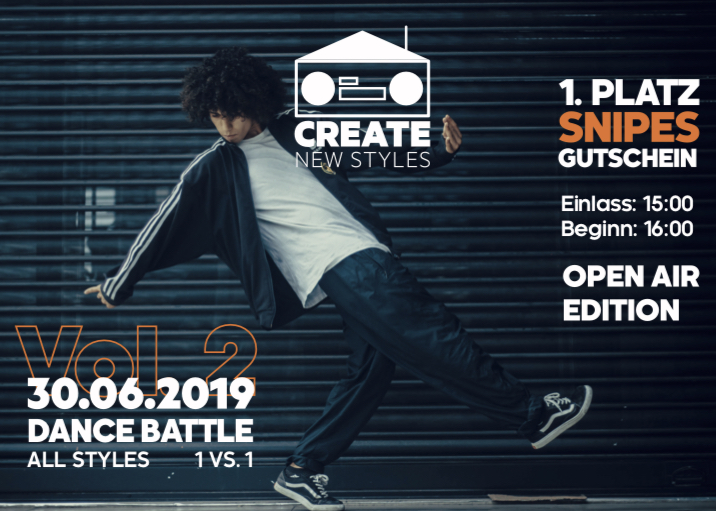 Flyer Dancebattle_30.06.2019