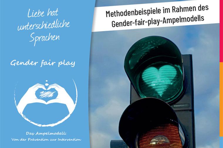 Deckblatt Broschüre Gender fair play