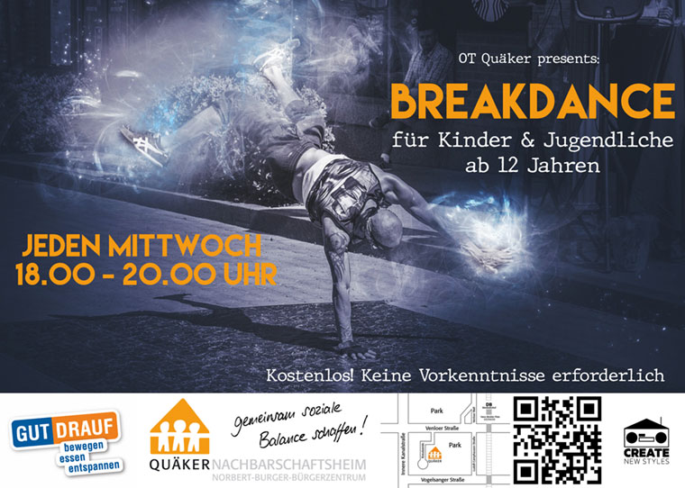 Flyer Breakdance