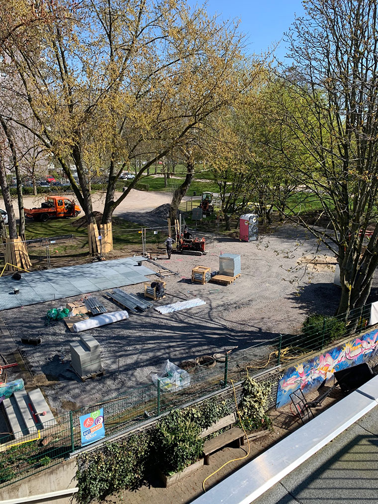 Umbau Bolzplatz 2 Es wird!