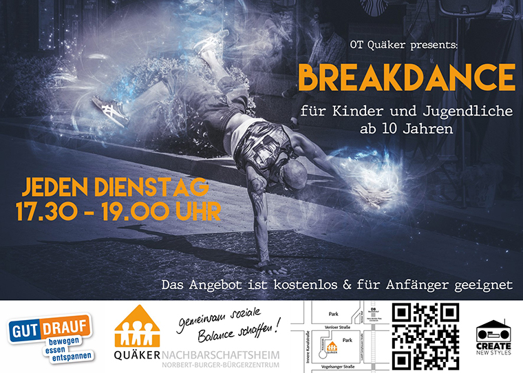 Flyer Breakdanceangebot
