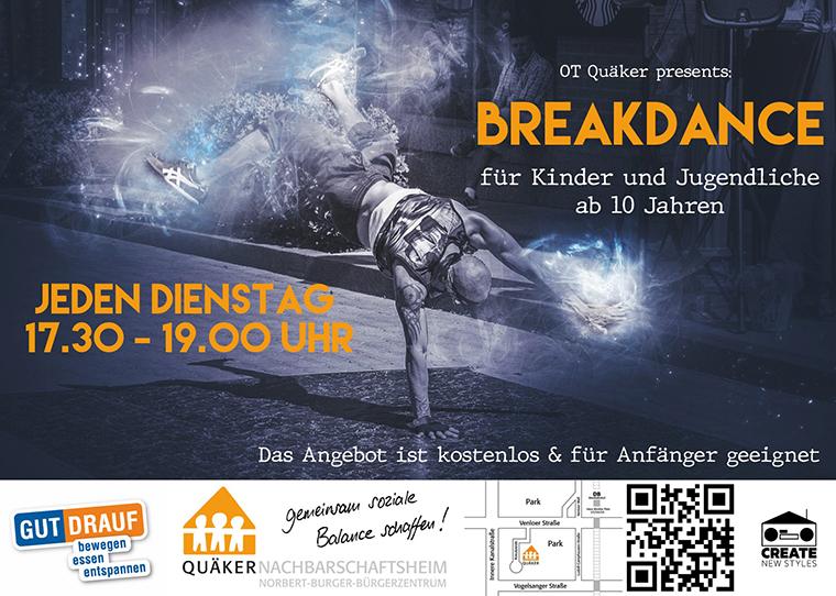 Flyer Breakdanceangebot